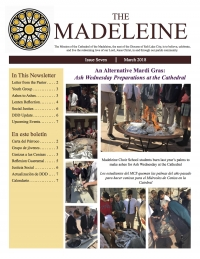 Cathedral of the Madeleine Newsletter - September 2017